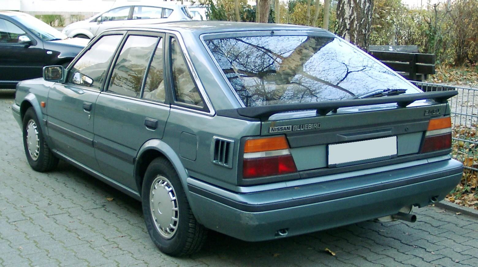 Nissan Stanza II (T12) 1986 - 1989 Sedan #4