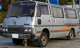 Nissan Urvan III (E24) 1986 - 2001 Minivan #2