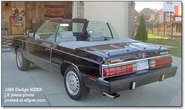 Dodge 600 1983 - 1988 Sedan #4
