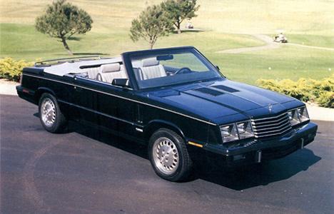 Dodge 600 1983 - 1988 Sedan #3