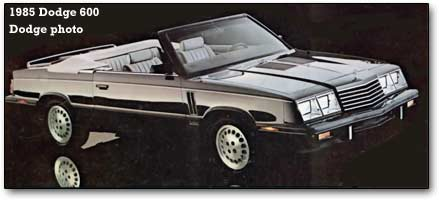 Dodge 600 1983 - 1988 Sedan #2
