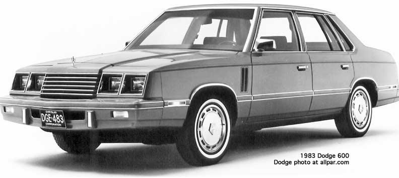 Dodge 600 1983 - 1988 Sedan #7