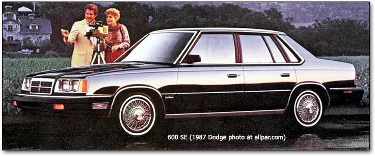 Dodge 600 1983 - 1988 Sedan #6