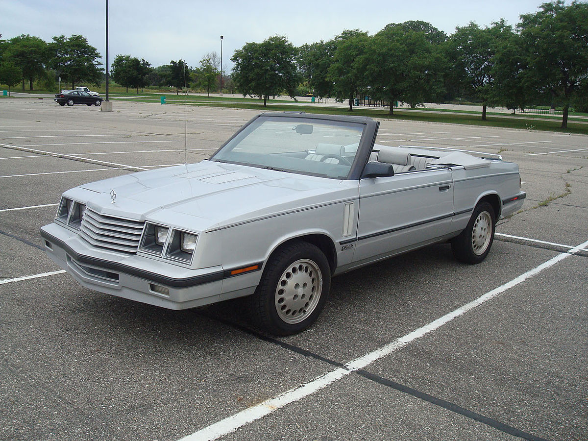 Dodge 600 1983 - 1988 Sedan #5