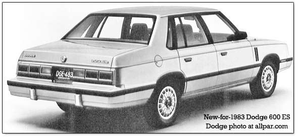 Dodge 600 1983 - 1988 Sedan #8