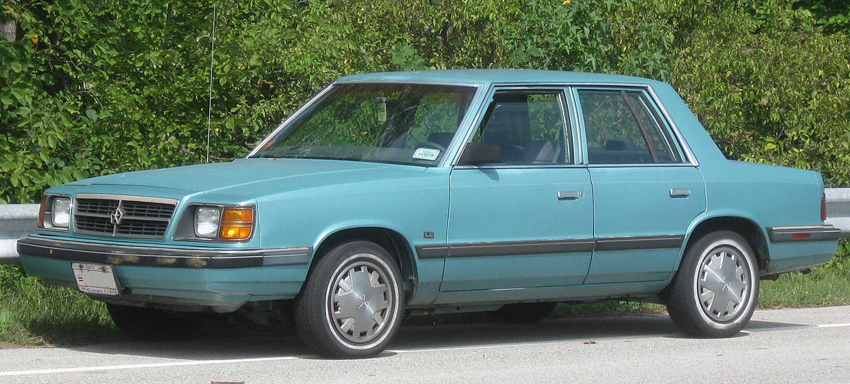 Plymouth Reliant I 1981 - 1989 Sedan #2
