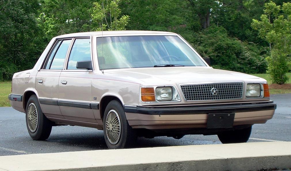 Dodge Aries 1981 - 1989 Sedan #1