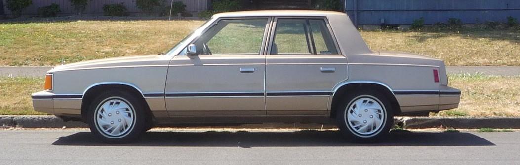 Dodge Aries 1981 - 1989 Sedan #8