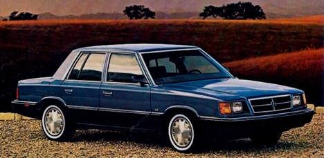 Dodge Aries 1981 - 1989 Sedan #7