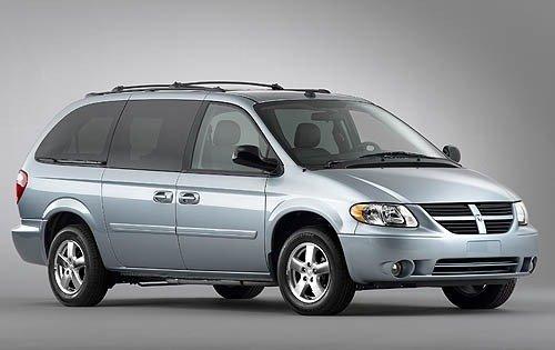 Dodge Caravan V 2007 - now Minivan #5