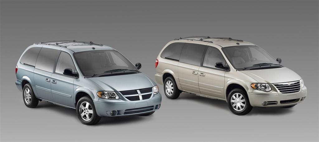 Dodge Caravan V 2007 - now Minivan #3