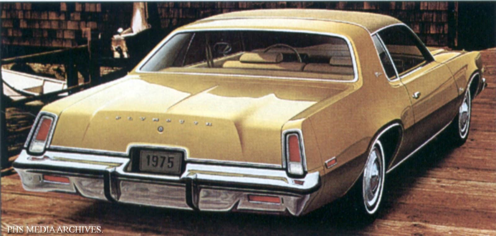 Plymouth Fury VII 1975 - 1978 Sedan #8