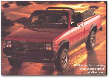 Dodge Dakota I 1987 - 1996 Pickup #1