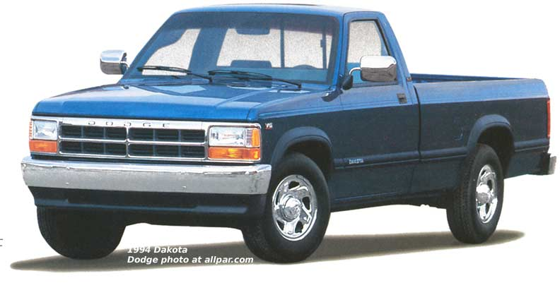 Dodge Dakota I 1987 - 1996 Pickup #3