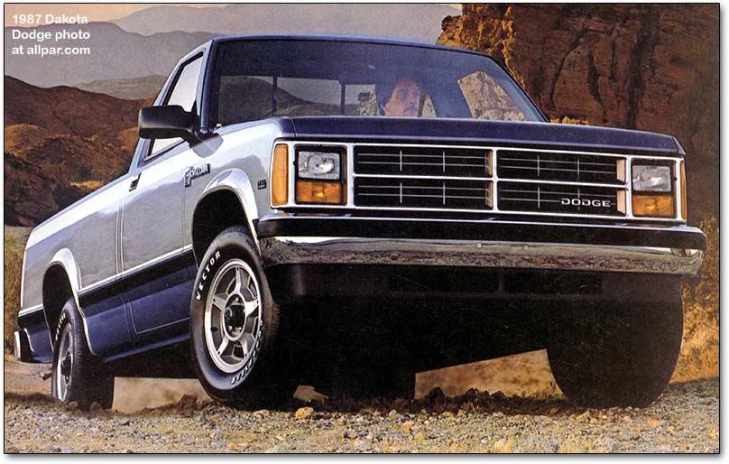 Dodge Dakota I 1987 - 1996 Pickup #8