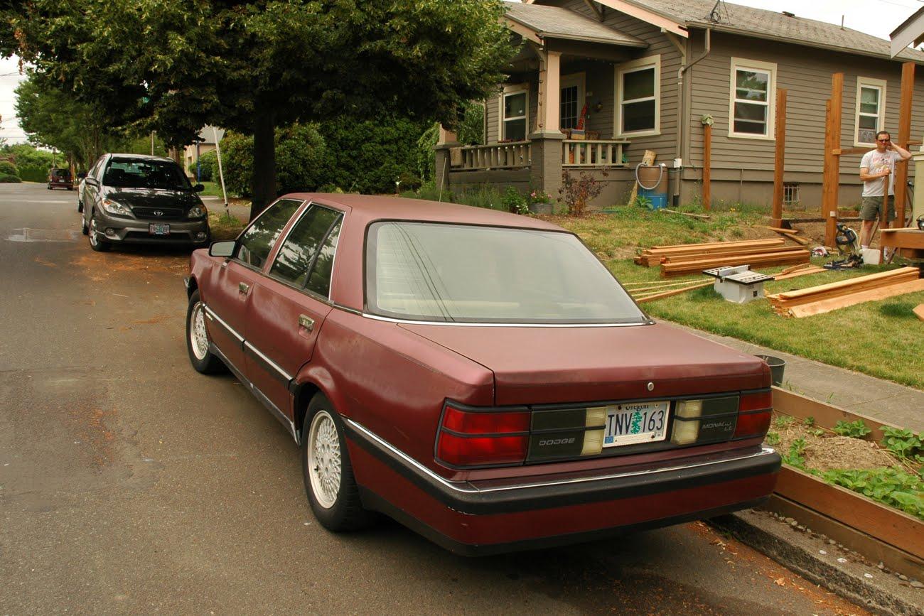 Dodge Monaco 1990 - 1993 Sedan #2