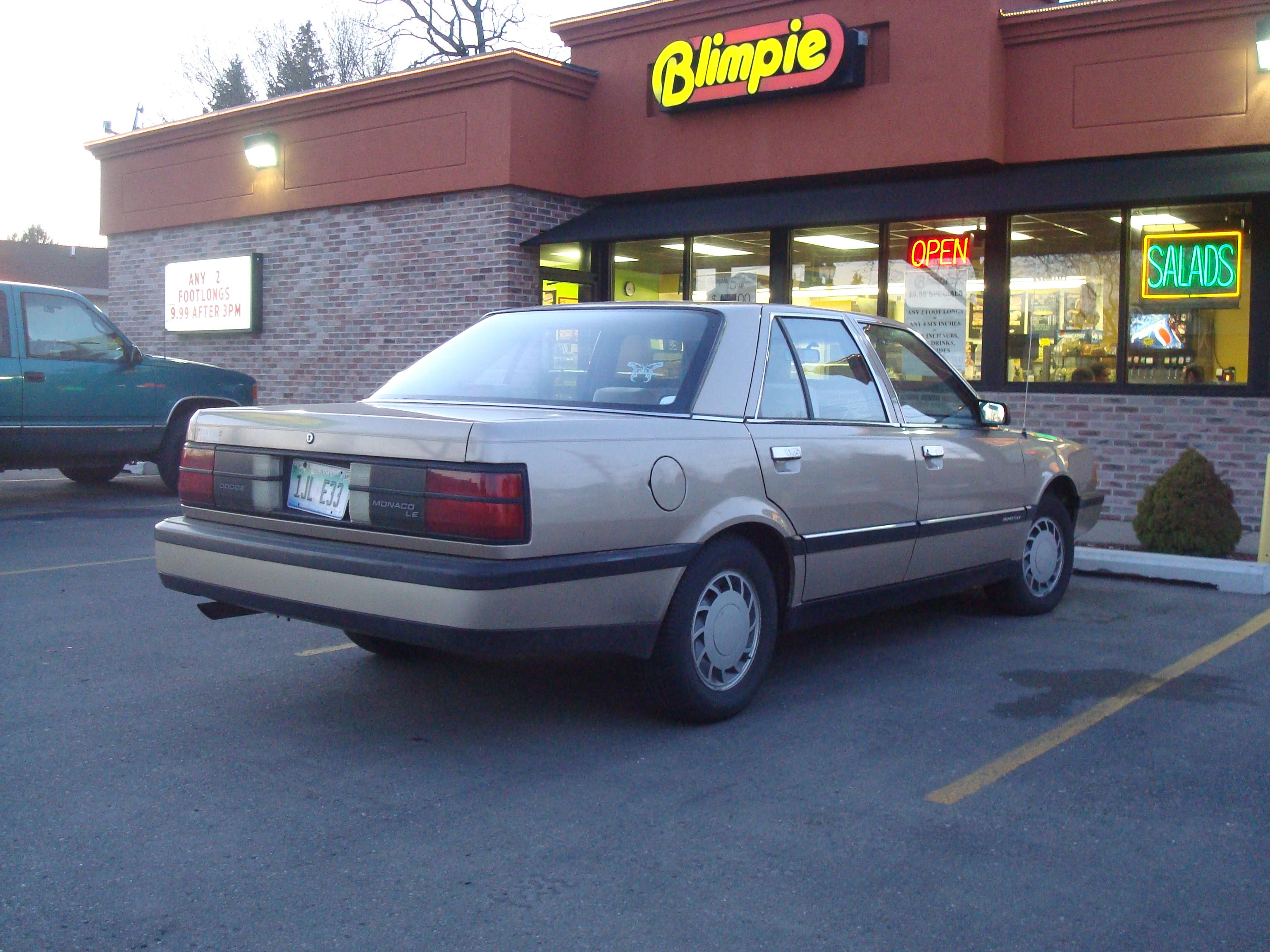 Dodge Monaco 1990 - 1993 Sedan #3