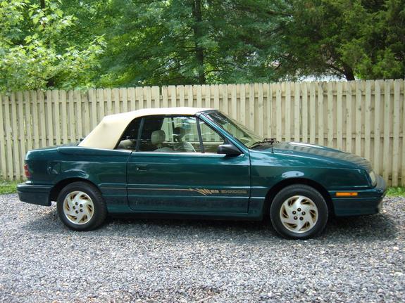 Dodge Shadow 1986 - 1994 Cabriolet #3