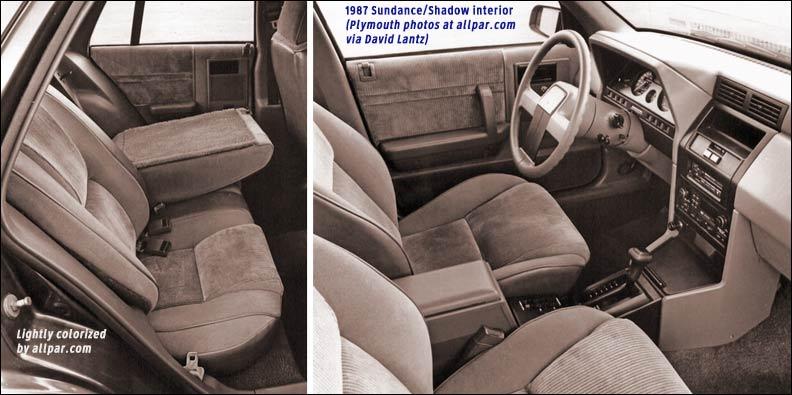 Dodge Shadow 1986 - 1994 Cabriolet #5