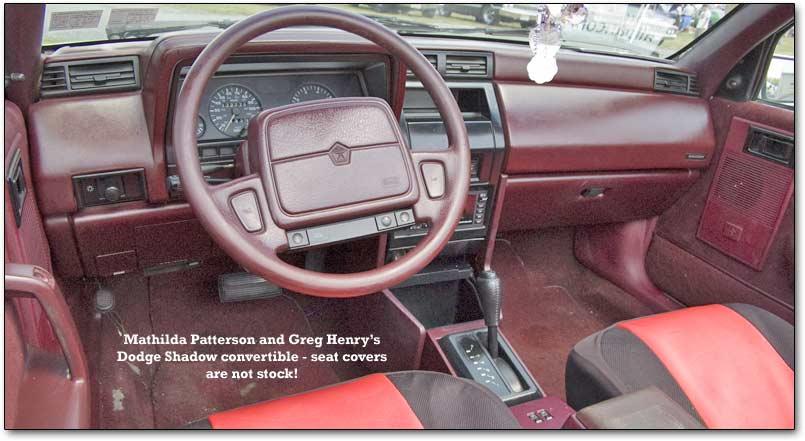 Dodge Shadow 1986 - 1994 Cabriolet #8