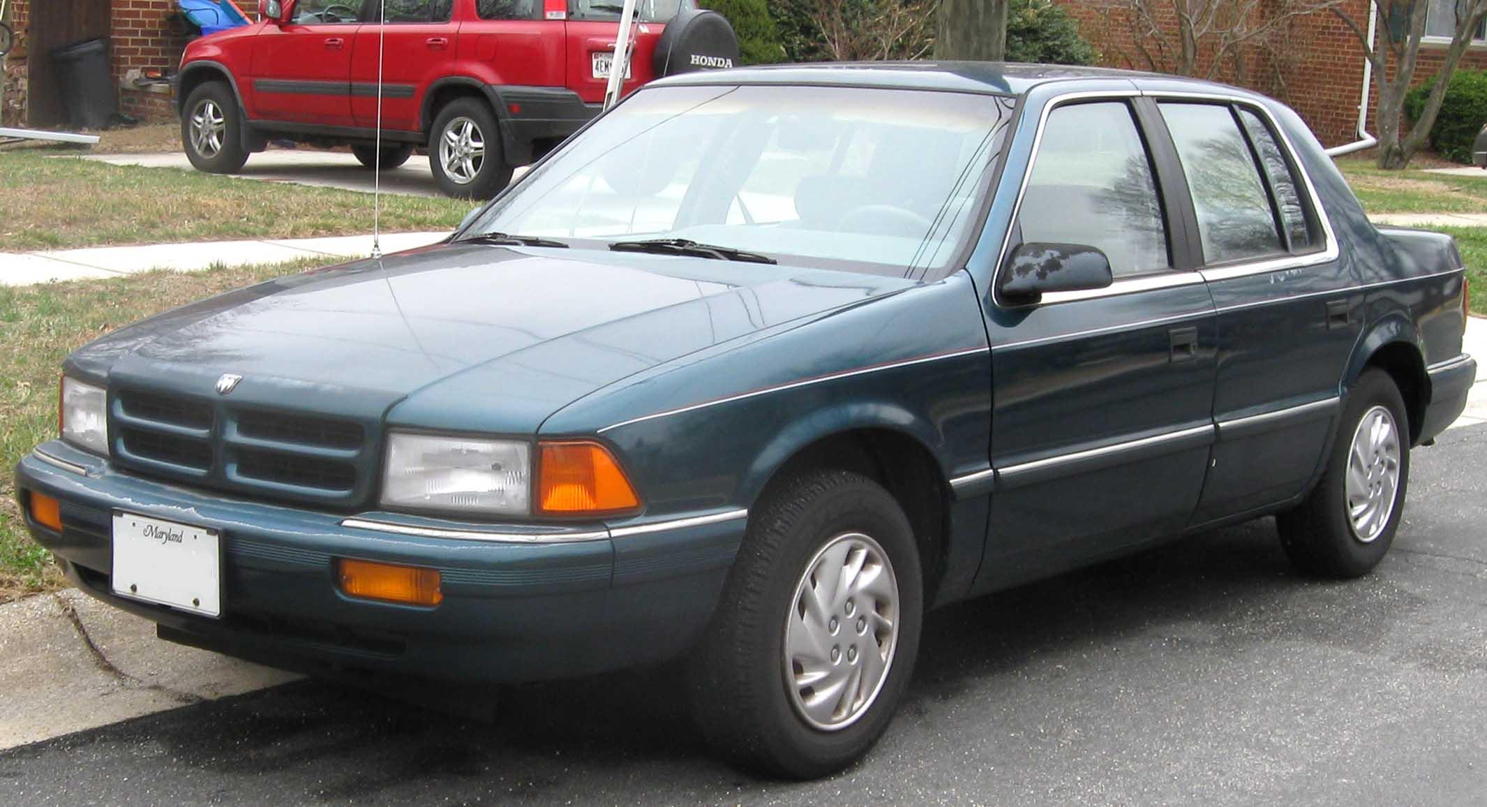 Dodge Spirit 1988 - 1995 Sedan #6