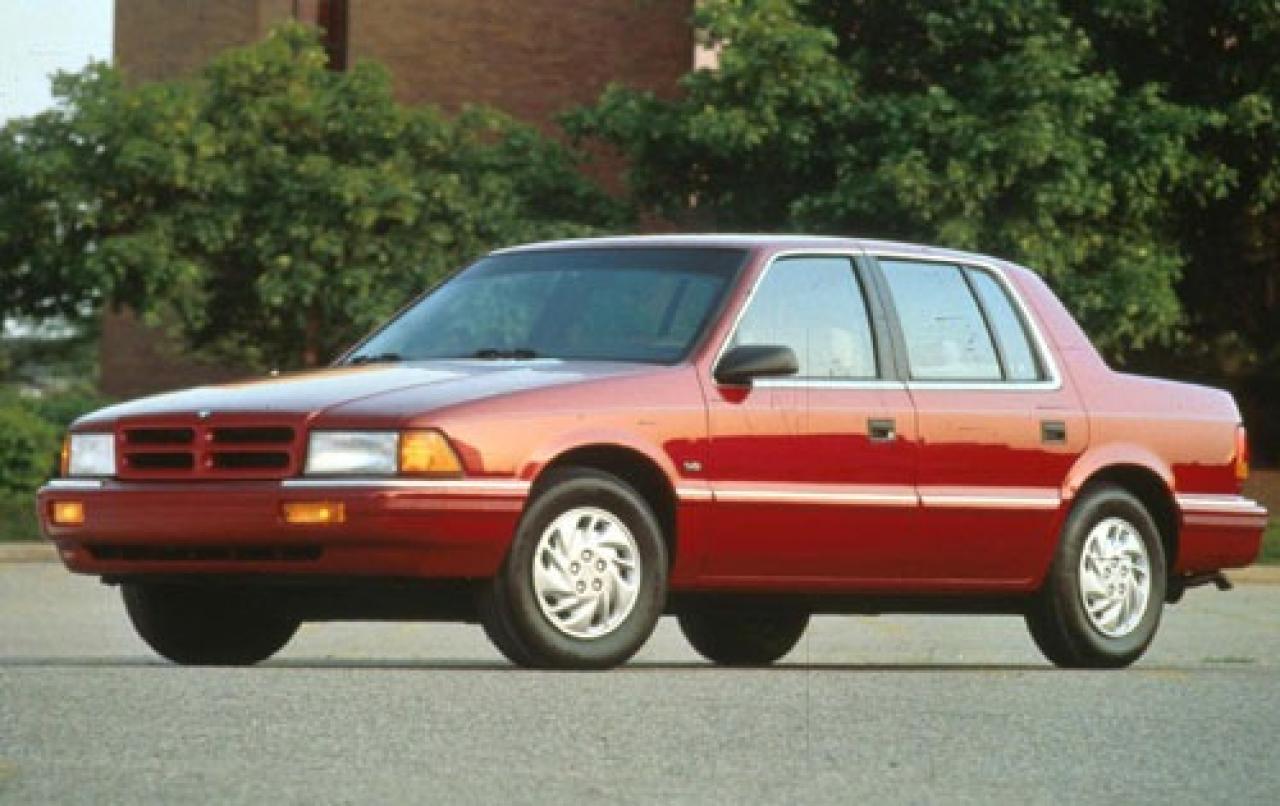 Dodge Spirit 1988 - 1995 Sedan #4