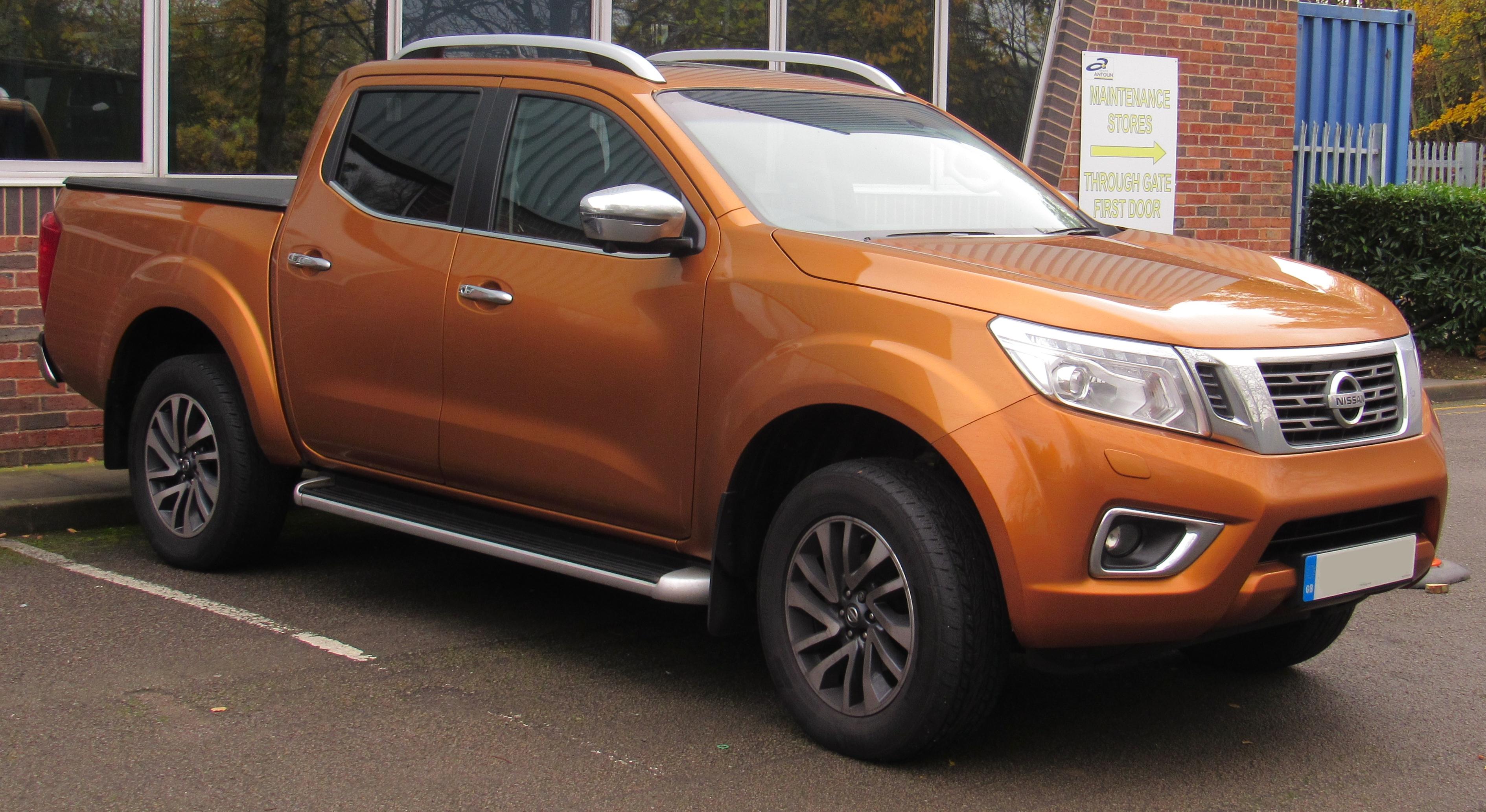 Nissan Navara (Frontier) IV (D23) 2014 - now Pickup ...