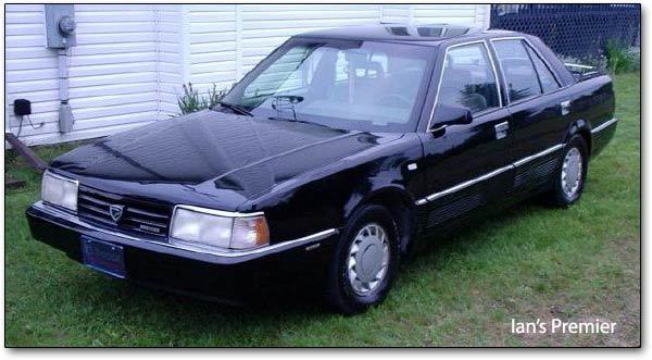 Eagle Premier 1987 - 1992 Sedan #4