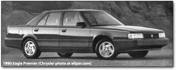 Eagle Premier 1987 - 1992 Sedan #5