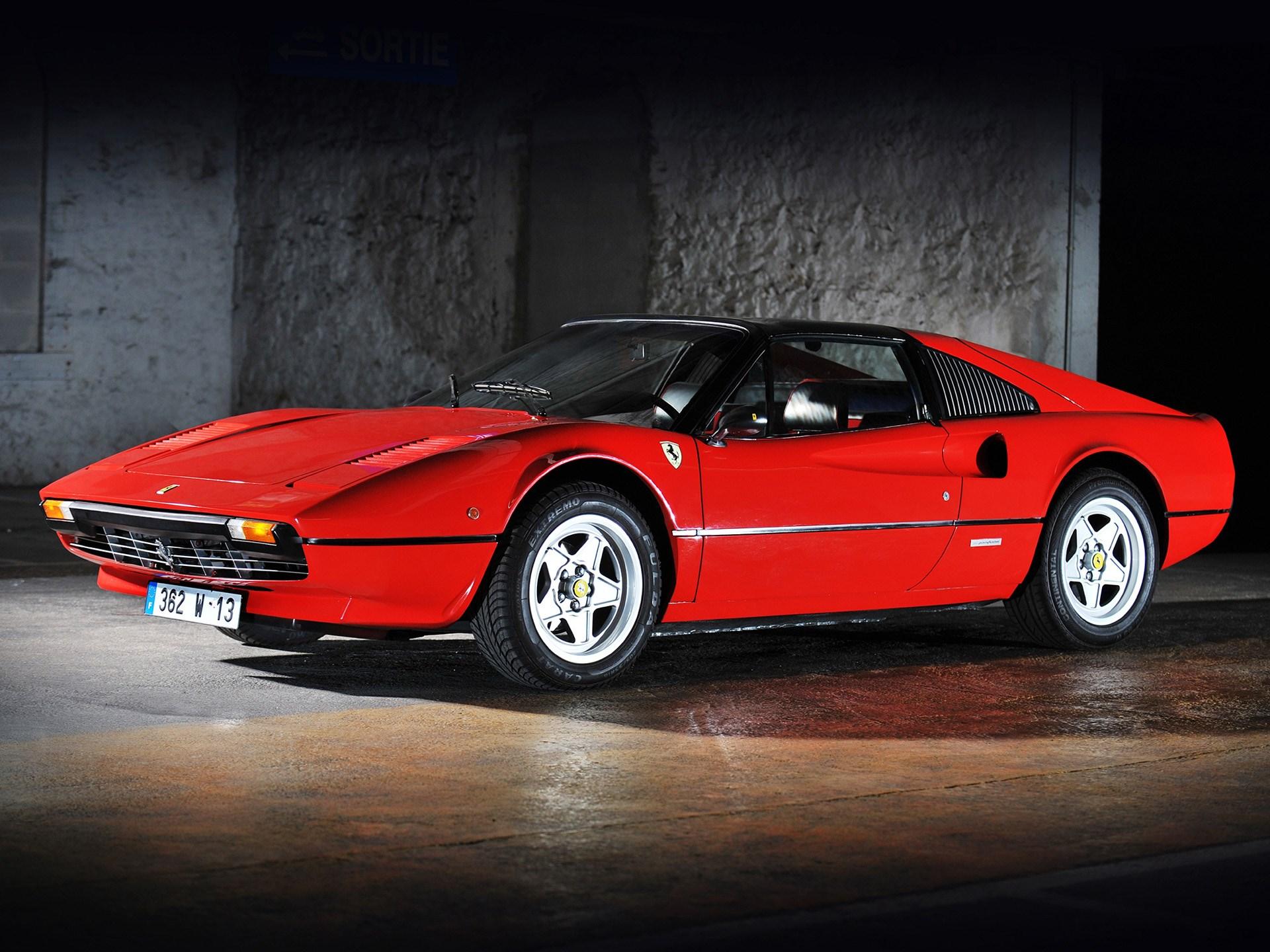 Ferrari Dino 208/308 GT4 1974 - 1989 Targa #6