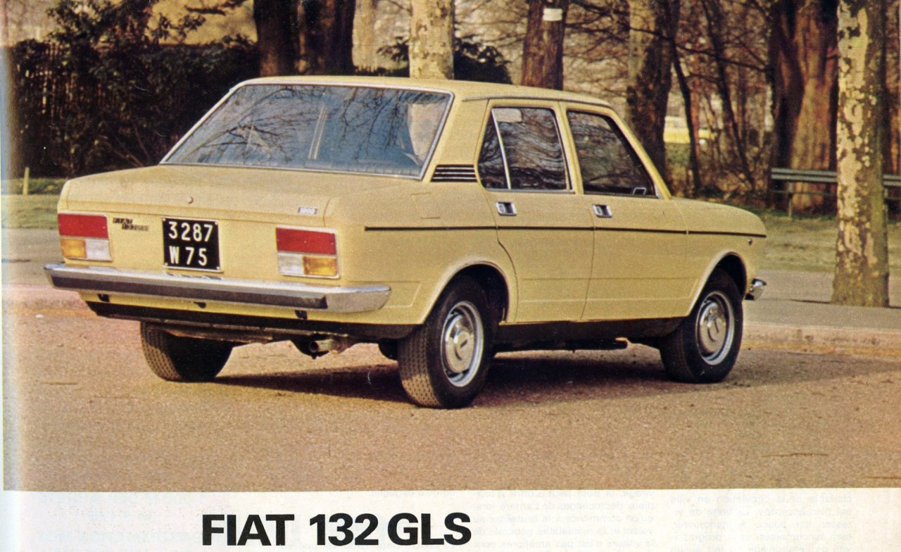 Fiat 132 1972 - 1982 Sedan #1