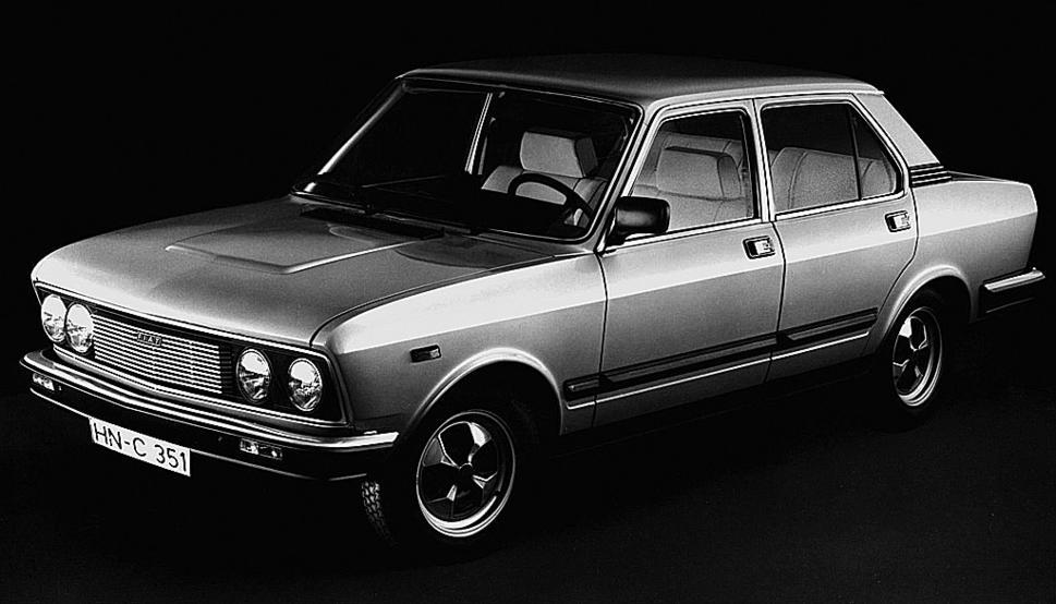 Fiat 132 1972 - 1982 Sedan #4