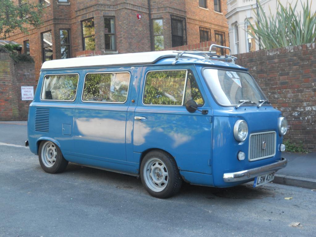 Fiat 238 1966 - 1982 Minivan #1