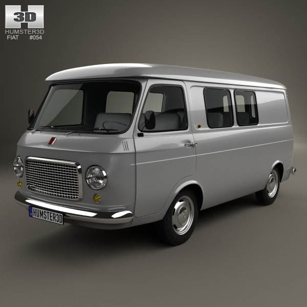 Fiat 238 1966 - 1982 Minivan #3