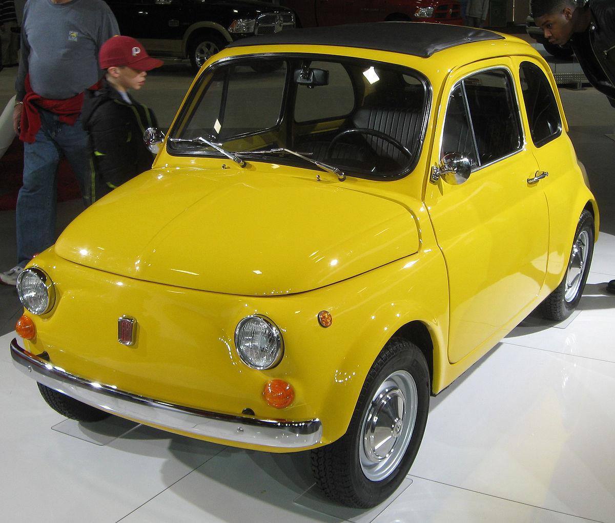 Fiat 500 I 1957 - 1975 Hatchback 3 door #3