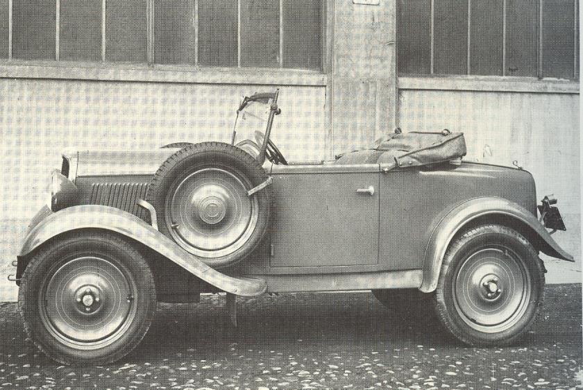 Fiat 508 1932 - 1939 Sedan 2 door #3