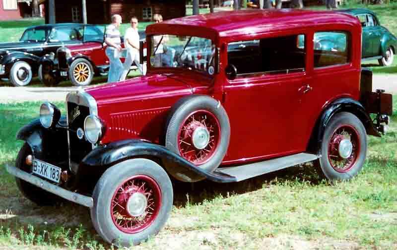 Fiat 508 1932 - 1939 Sedan 2 door #7