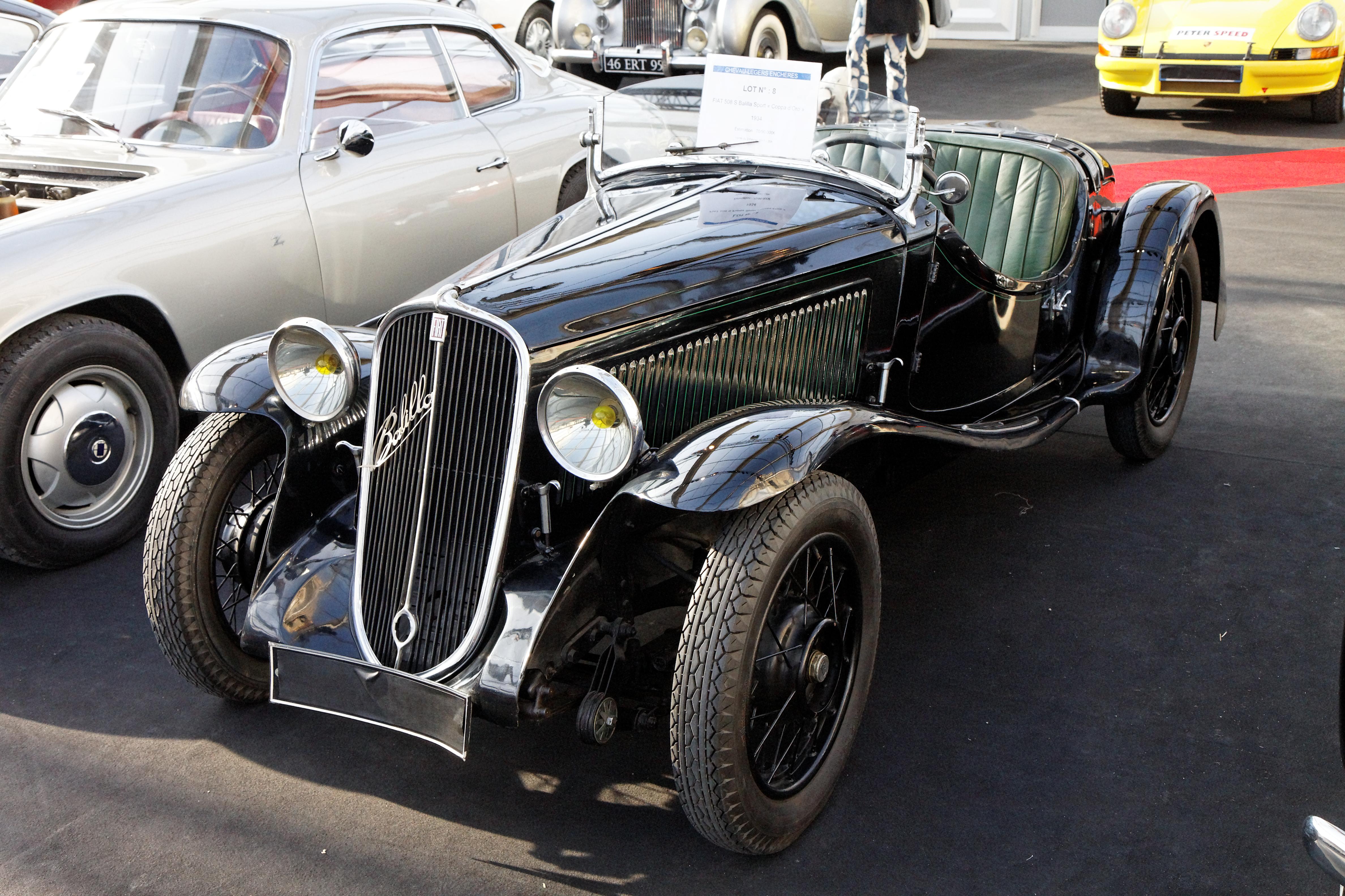 Fiat 508 1932 - 1939 Sedan 2 door #1