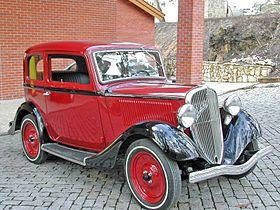 Fiat 508 1932 - 1939 Sedan 2 door #8