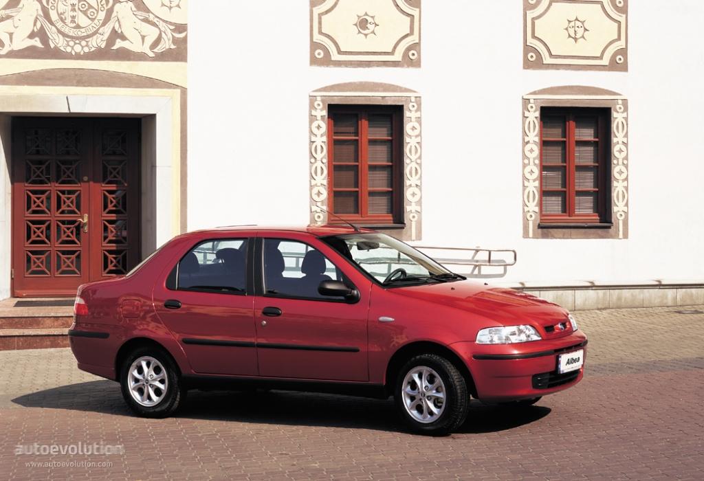 Fiat Albea I 2002 - 2005 Sedan #6