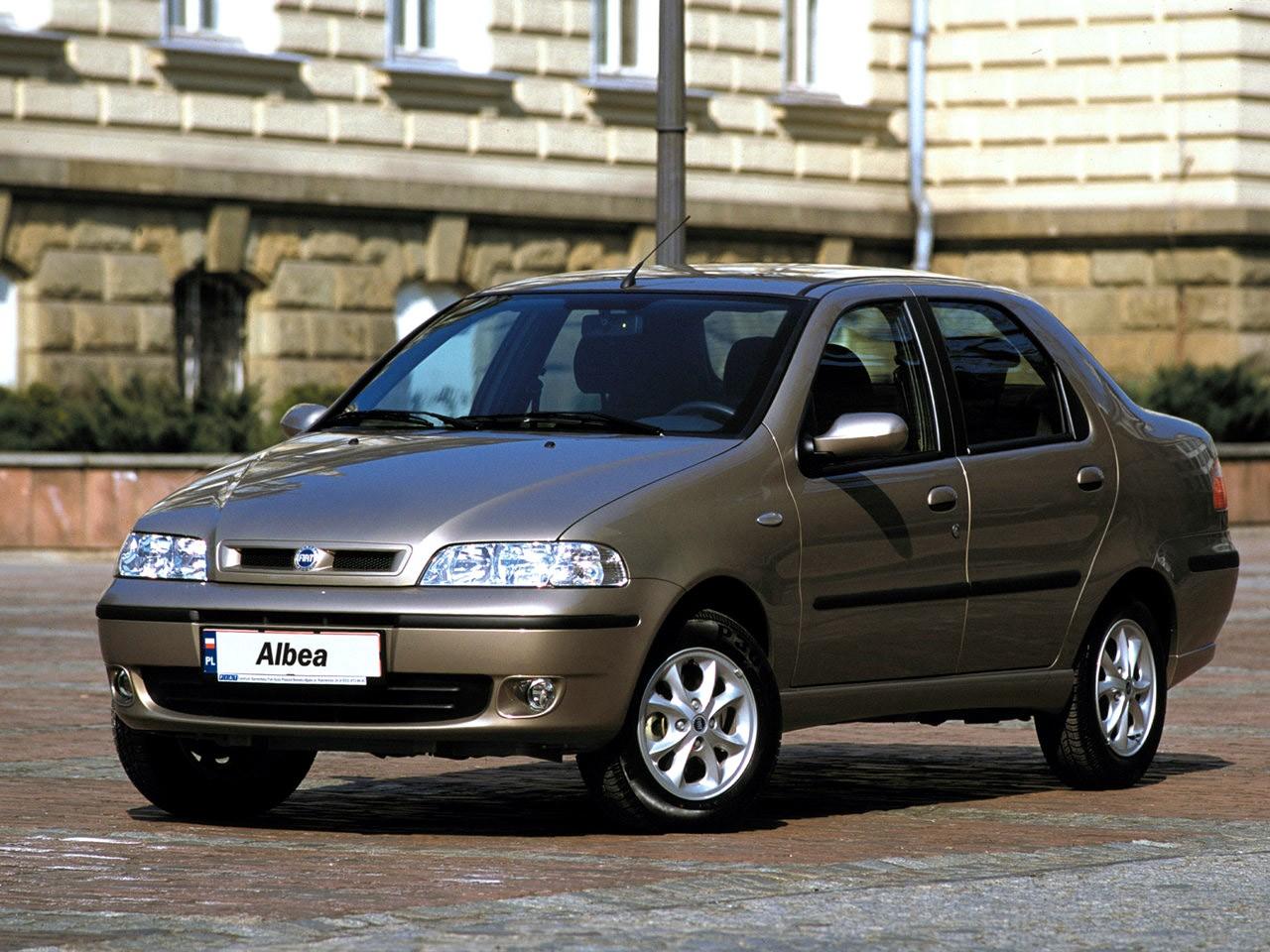 Fiat Albea I 2002 - 2005 Sedan #8