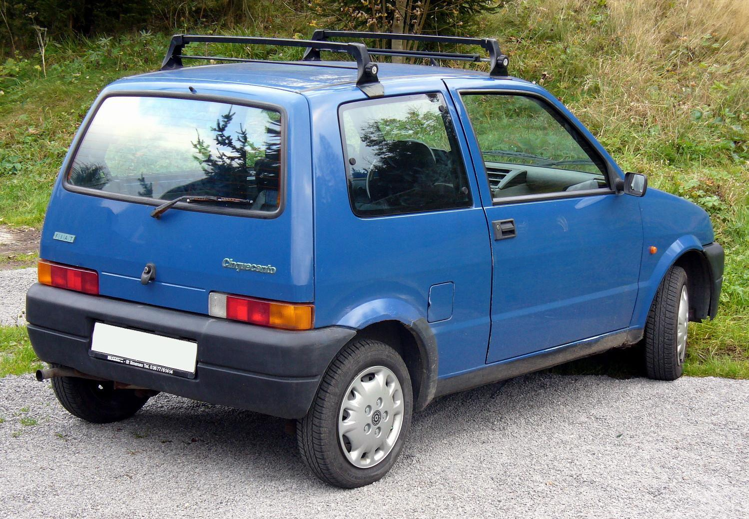 Fiat Cinquecento 1991 - 1998 Hatchback 3 door #3