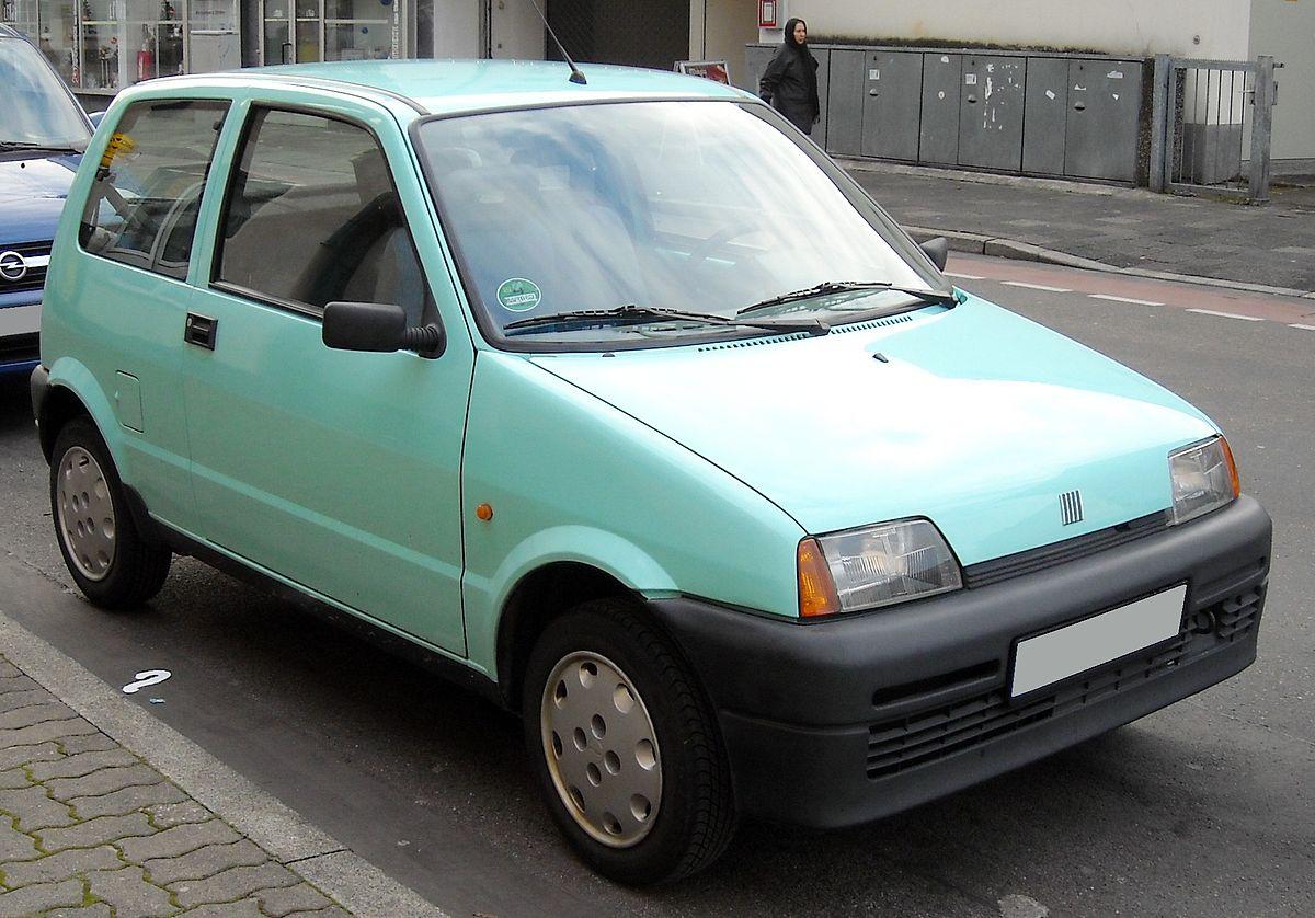 Fiat Cinquecento 1991 - 1998 Hatchback 3 door #7