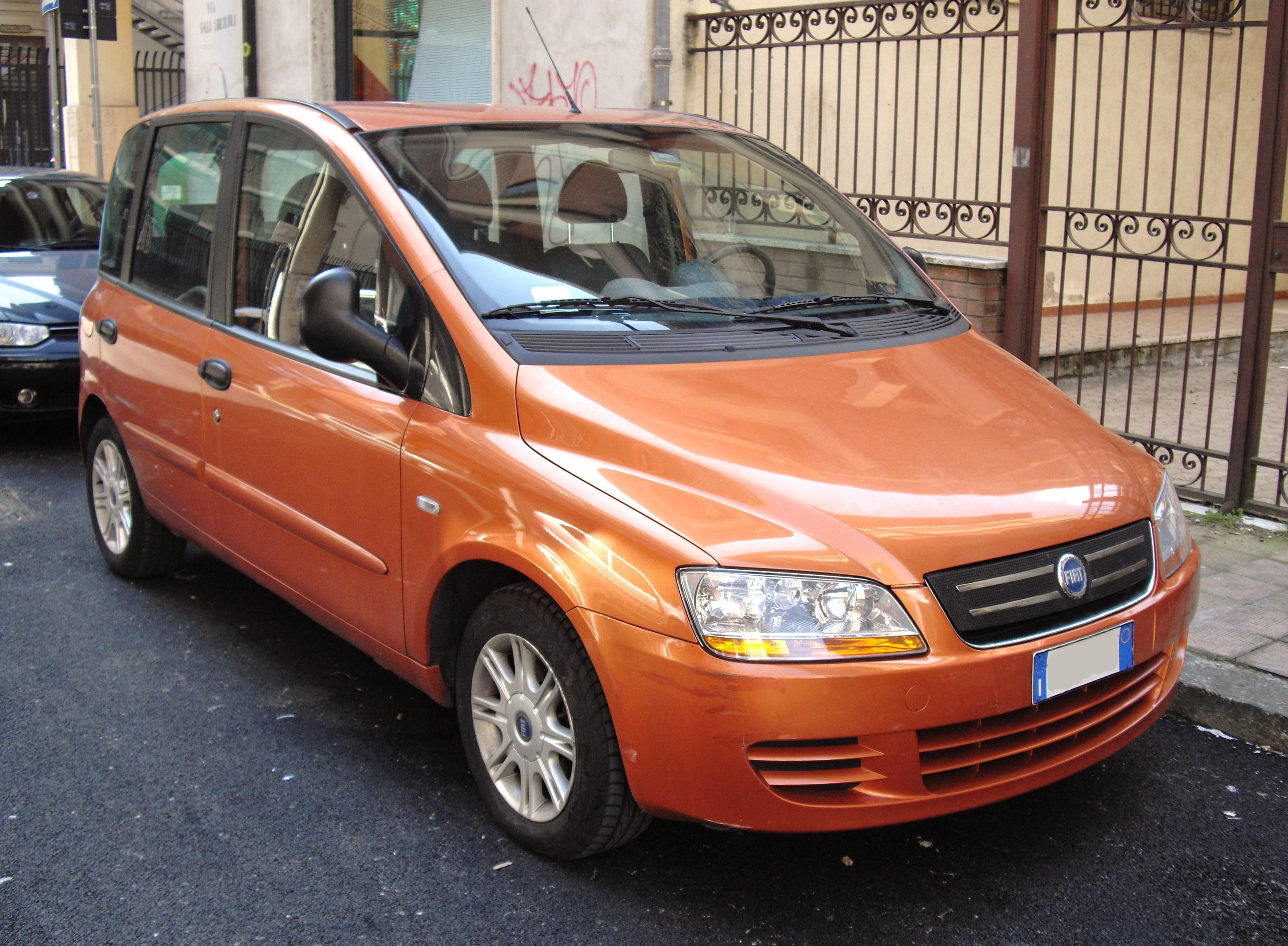 Fiat Multipla I 1998 - 2004 Compact MPV #7