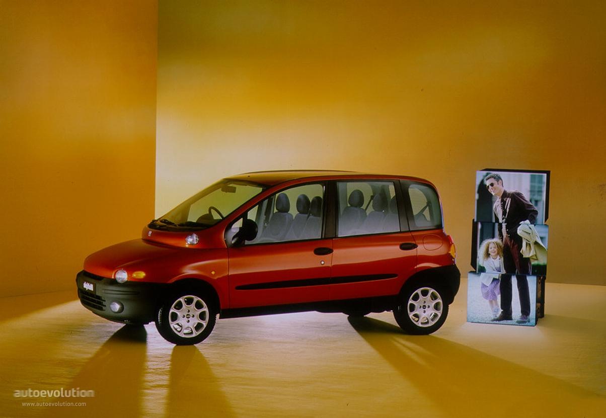 Fiat Multipla I 1998 - 2004 Compact MPV #4
