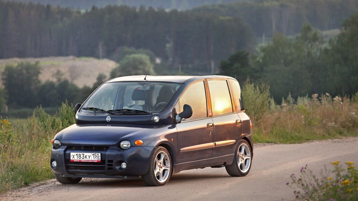 Fiat Multipla I 1998 - 2004 Compact MPV #3
