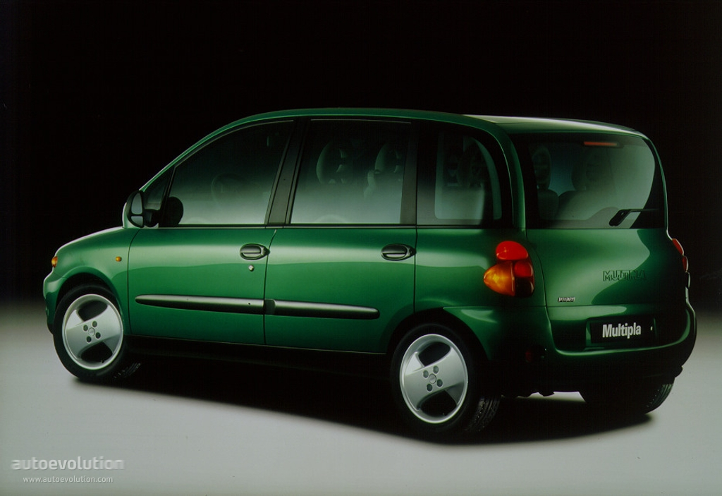 Fiat Multipla I 1998 - 2004 Compact MPV #1