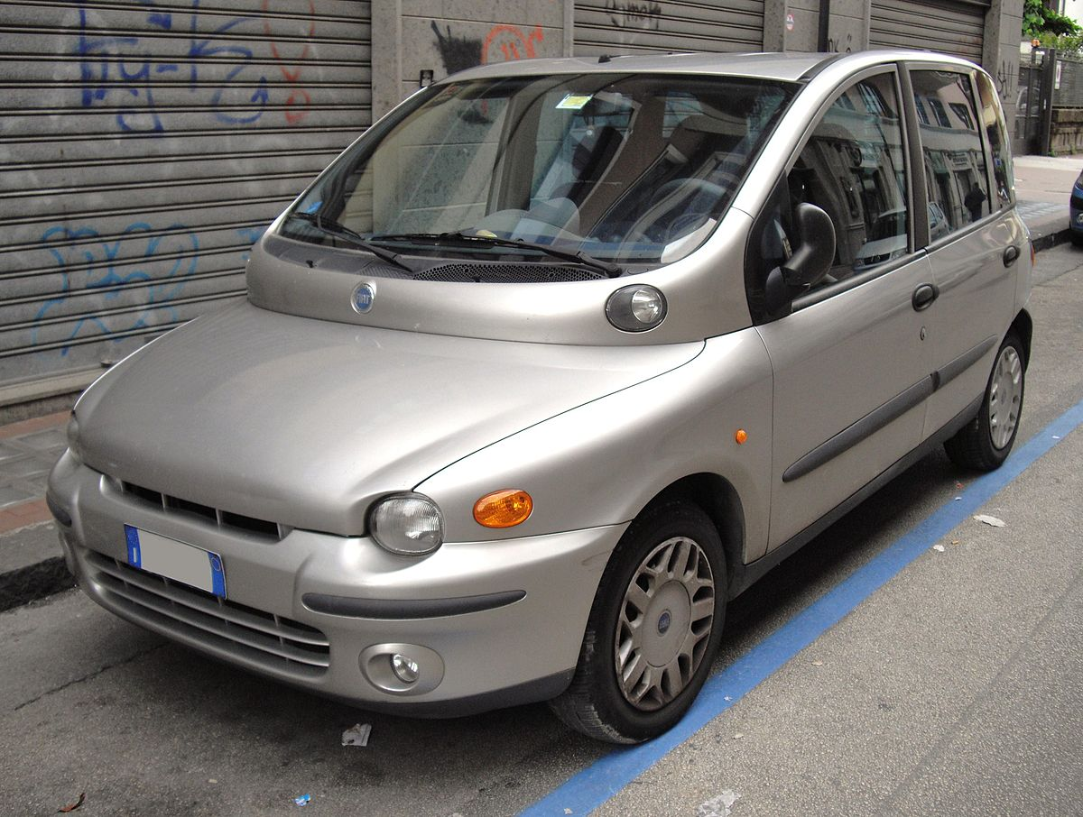 Fiat Multipla I 1998 - 2004 Compact MPV #8