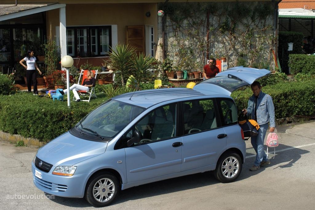 Fiat Multipla I Restyling 2004 - 2010 Compact MPV #2