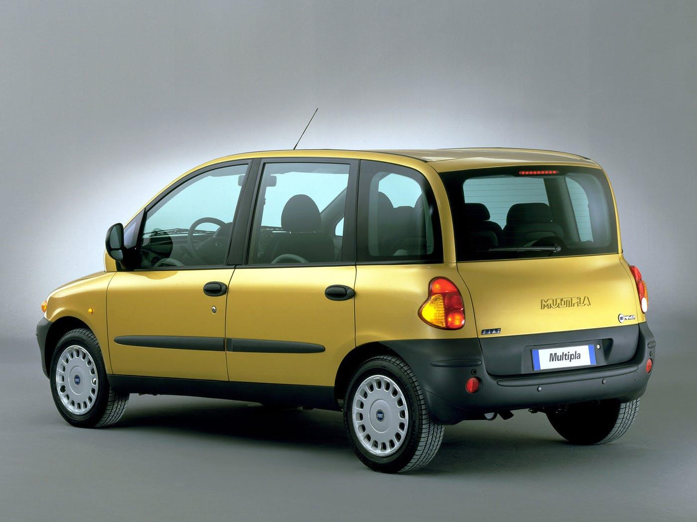 Fiat Multipla I Restyling 2004 - 2010 Compact MPV #1
